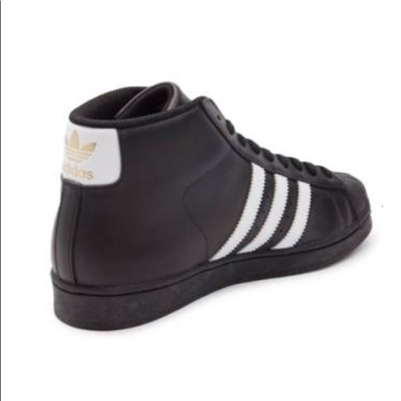 Black Adidas Pro Models